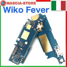 Flex Flat Micro Usb Dock CONNETTORE Carica RICARICA + MICROFONO WIKO FEVER 4G