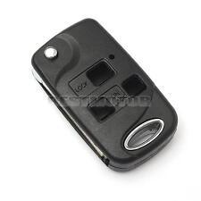 3 Button Conversion Flip Key Remote Fob Case For Lexus IS200 LS400 RX300 GS300
