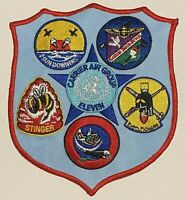 Official US Navy Carrier Air Group 11 WWII 6''x 5'' Patch