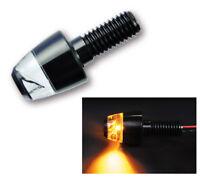 motogadget LED Blinker m Blaze PIN schwarz eloxiert E-geprüft Stück (204-610)