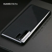 Original Echt Aramid Carbon Faser Cover Slim Hülle Case F HUAWEI Mate 20 P30 Pro