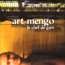 CD Single Art MENGO 	Le chef de gare Promo 1 Track CARD SLEEVE