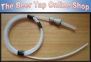 """3/16"""" Beer Line & 3/8"""" Pipe for Beer Taps & Keg Couplers, Ball Lock Disconnects"""