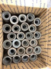 "LOT OF 50 1"" To 3/4"" Socket Weld Black Forged Steel  Coupler Made In USA"