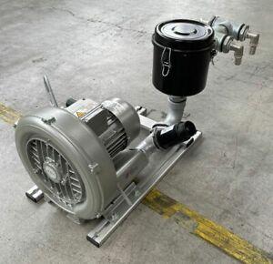 Gardner Denver Seitenkanalverdichter G-BH1 2BH1400-7AH06-Z + Luftfilter