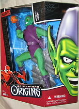 Spider-Man Origins-Signature Series-Green Goblin Action Figure Mint in Box