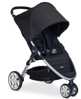 Britax 2015 B-Agile 3 Stroller in Black Brand New!! Free Shipping!!