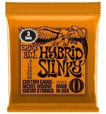 Ernie Ball 3222 - 3 jeux de cordes guitare électrique - Hybrid Slinky - 9-46