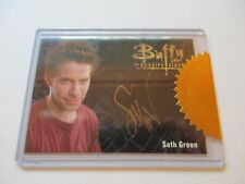 Buffy The Vampire Slayer Ultimate Collectors Set 3 - Seth Green Gold Autograph