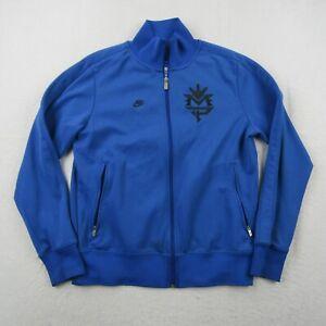 Nike Manny Pacquiao Track Jacket Adult Medium Men Blue Black Full Zip Boxing