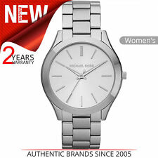 Michael Kors Runway Ultra Slim Women Watch│Silver Tone Dial│Bracelet Band│MK3178