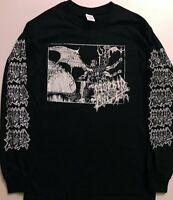 MORBID ANGEL Long Sleeve T shirt Death metal IMMOLATION MAYHEM SLAYER  S - XL
