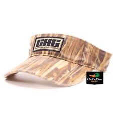AVERY OUTDOORS GREENHEAD GEAR GHG LOGO VISOR HAT CAP MARSH GRASS CAMO