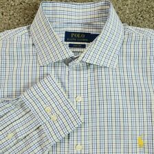 Polo Ralph Lauren 16.5 34/35 Easy Care Dress Shirt Multicolor Plaid