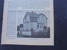 1915 Baugewerkszeitung 73 / Bremerhaven Speckenbüttel Kapitän Rehm