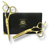 "6"" Hair Cutting Scissors Shears Thinning Set Hairdressing Salon Barber Home Use"