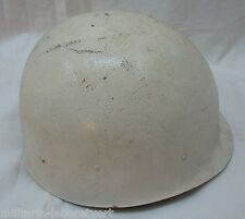 CASQUE US LINER USA ORIGINAL SHORE PATROL MP POLICE US NAVY Blanc VIETNAM