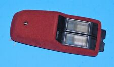 1989-93 CADILLAC DEVILLE FLEETWOOD OEM ROOF DOME MAP LIGHTS - MAROON
