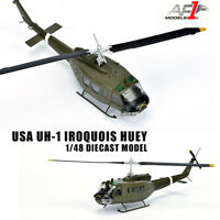 AF1 USA UH-1 IROQUOIS HUEY 1/48 diecast  plane model helicopter