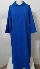 "Vintage Gaspard & Son's Blue Choir Theater Cape Gown ""Mabel"" Worn 54"