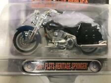 Harley Davidson 2001 FLSTS Heritage Springer 1-24 Die cast Model  (HF341sHF11t6)
