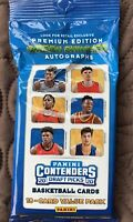 2020-2021 Panini Contenders Basketball Draft Picks factory sealed 18 card pack