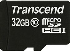 Transcend Micro Sd Sdhc 32GB 32 GB Class 10 Speicherkarte  NEU BULK DHL-VERSAND!