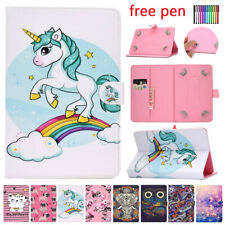 """For Huawei MediaPad M2 M3 M5 T3 Lite 8.0"""" Tablet Universal PU Leather Case Cover"""