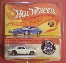 Hot Wheels 2018 RLC 50th HWC Original 16 CUSTOM CORVETTE White Limited Edition