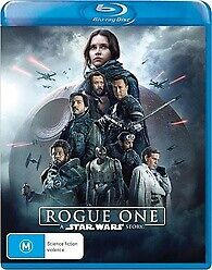 ROGUE ONE BLU RAY - NEW & SEALED A STAR WARS STORY DAISY RIDLEY FREE POST