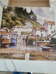 Gibsons 1000 piece jigsaw puzzles Heritage Collection Polperro Terry Harrison