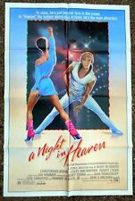 ORIGINAL A NIGHT IN HEAVEN 1S MOVIE POSTER 1983 CHRISTOPHER ATKINS JAN HAMMER MU