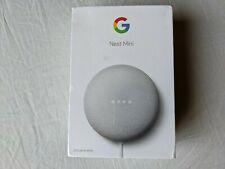 Google Nest Mini (2nd Generation) Smart Speaker - Sealed, NEW, Chalk