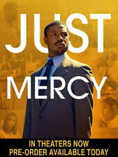 Just Mercy (Dvd,2019)>>>New <<<