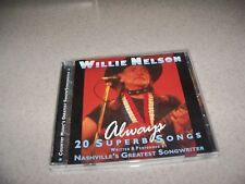 Always 20 Superb Songs by Willie Nelson Music CD Feb-1999 Prism