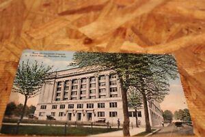 Postcard-X-Multnomah County Court House, Portland,Oregon-DividedBack-Posted 1913
