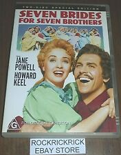SEVEN BRIDES FOR SEVEN BROTHERS -2 DVD SPECIAL EDITION- JANE POWELL,HOWARD KEEL