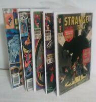 Lot 5 Marvel Strange Tales #137,152,166,186 Doctor Strange #36 Marvel Silver Age