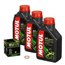Honda CB 1000 R, 08-15, SC60; Motul 10w40 Öl; HiFlo Ölfilter Ölwechsel Motoröl