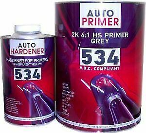 1.25L kit  HB Body 534 High Build 2K Grey Primer Easy Flatting + FREE ACTIVATOR