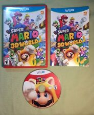 Super Mario 3D World (Nintendo Wii U, 2013) Complete Tested