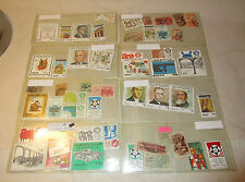 Collection of 49 Mexican Stamps
