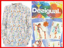 DESIGUAL Camisa Hombre L  DE05 T1G