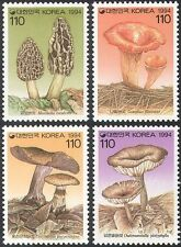 Korea 1994 Fungi/Mushrooms/Plants/Nature 4v set (n41946)