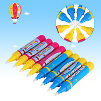 8x Writing Water Pen Painting Doodle For Drawing Mat Board Kid Boy Girl Toy H