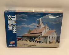 HO Scale Walthers Sunrise Feed Mill