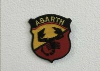 Abarth sports cars art badge Embroidered Iron or Sew on Patch lv