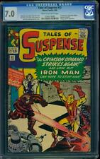 Tales of Suspense 52 CGC 7.0 Silver Age Key Marvel Comic 1st Black Widow L@@K