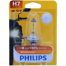 H7 PHILIPS More Vision Moto 30% Mehr Licht Vibratrionsfest Motorrad Lampe
