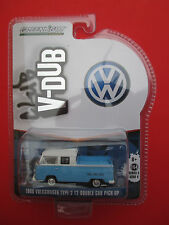 GREENLIGHT CLUB V-DUB 1968 VOLKSWAGEN TYPE 2 T2 DOUBLE CAB PICK-UP TWO TONE NICE